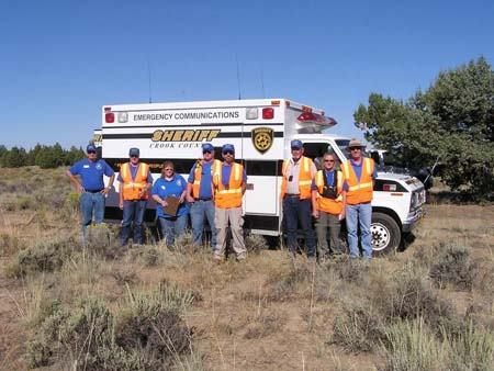EmComm Van & Volunteers